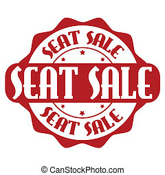Free seat stamp or label