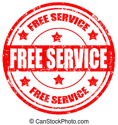Free Service-stamp