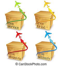 Free Shipping Carton