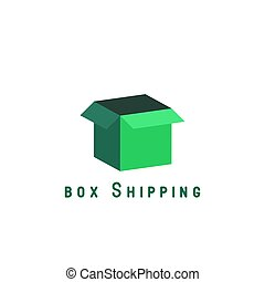 Free shipping delivery logo box