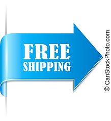 Free shipping ribbon