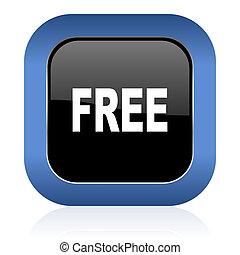 free square glossy icon