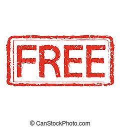 Free stamp illustration
