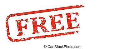 Free - stamp