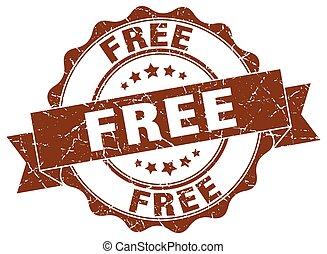 free stamp. sign. seal
