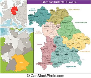 Bavaria is a federal state of Germany