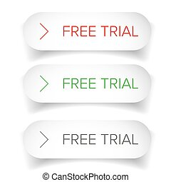 Free Trial button set