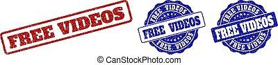 FREE VIDEOS Grunge Stamp Seals