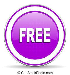 free violet icon