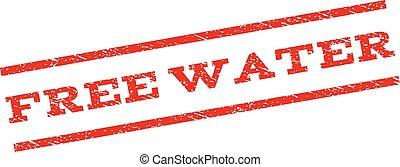 Free Water Watermark Stamp