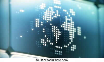Free Webinar Digital Sign Animation - LED display shows...