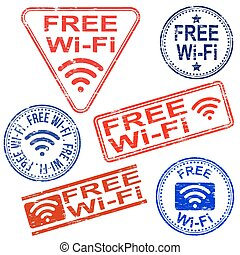 Free Wifi Stamps
