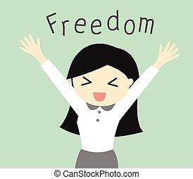 freedom.