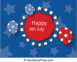 Freedom - 4th of july vector