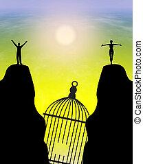 Freedom after Divorce