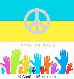 freedom national symbol of the Ukraine