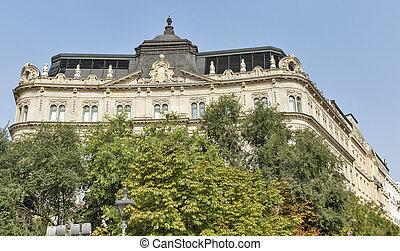 Freedom Palace in Budapest, Hungary
