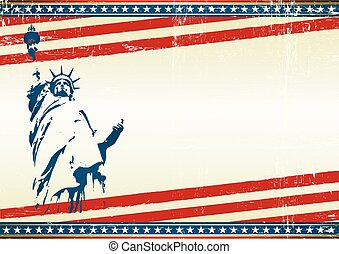 freedom screen background - A grunge horizontal poster with...
