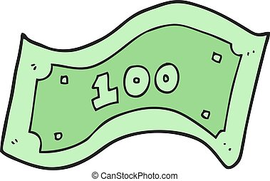 cartoon 100 dollar bill vector clipart eps images 122 cartoon 100 rh canstockphoto ca clipart 5 dollar bill clipart 100 dollar bill
