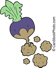 cartoon beet