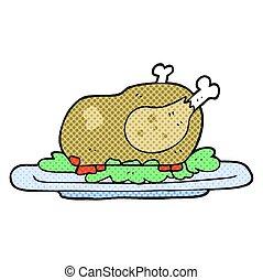 Turkey - retro clipart illustration vector illustration ...