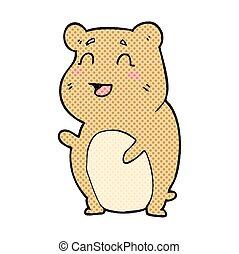 cartoon cute hamster