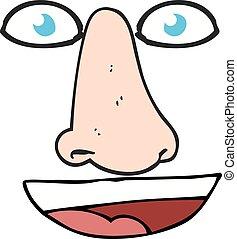 Facial Features Clip Art