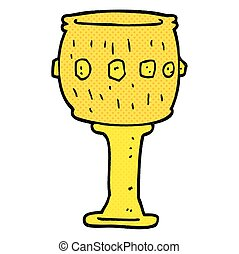 cartoon goblet