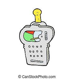 cartoon scientific device