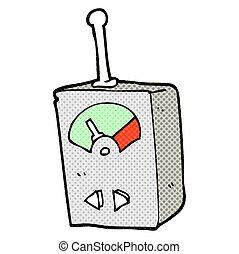 cartoon scientific equipment