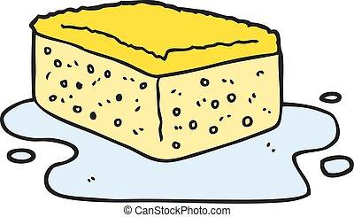 cartoon sponge
