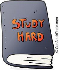 cartoon study book - freehand drawn cartoon study book
