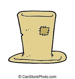 cartoon tramp top hat