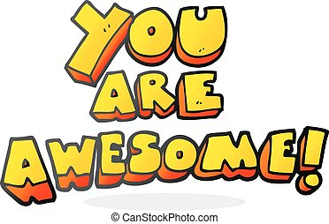 you are awesome illustrations and clip art 143 you are awesome rh canstockphoto com you guys are awesome clipart you guys are awesome clipart