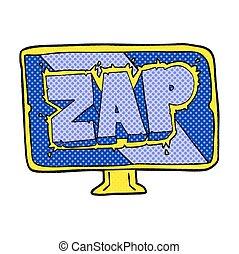 cartoon zap screen