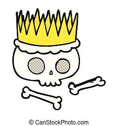 comic book style cartoon crown
