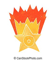 retro cartoon sheriff badge