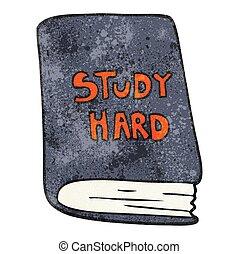 textured cartoon study book - freehand textured cartoon...