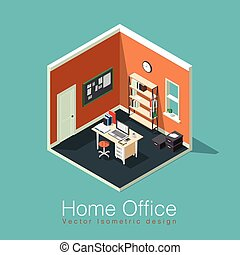 Freelance home office concept