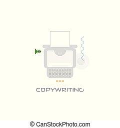 freelance occupation copywriting concept content marketing ...