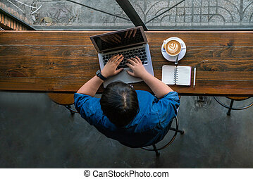 freelancer, laptop, lavorativo, linea