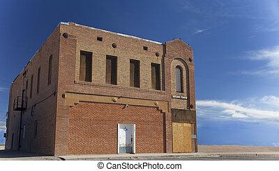 freemason, templo, abandonado