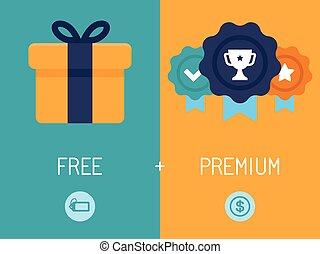 freemium, modèle, business