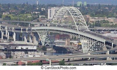 Freemont Bridge in Portland Oregon