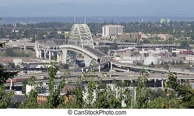 Freemont Bridge Portland Oregon