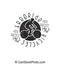 Freeride Bicycles Vintage Stamp