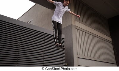Freerunner on the Rooftops