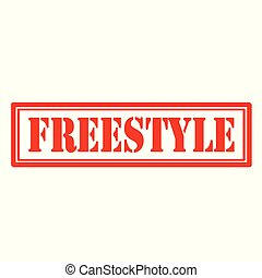 Freestyle-red stamp