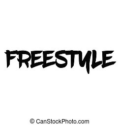 freestyle rubber stamp