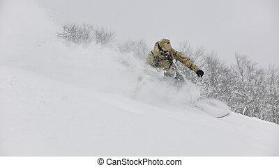 freestyle, snowboarder